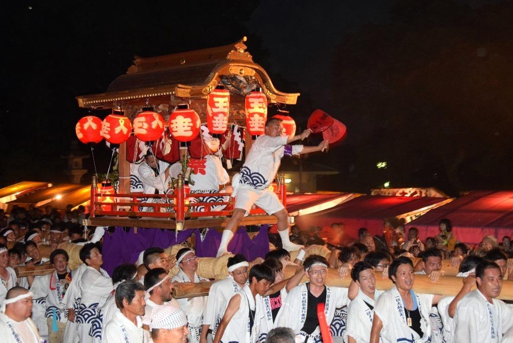 代表的な祭り‐太鼓まつり